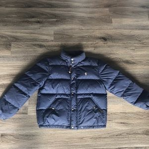Men's Navy Ralph Lauren Winter Puffer Jacket